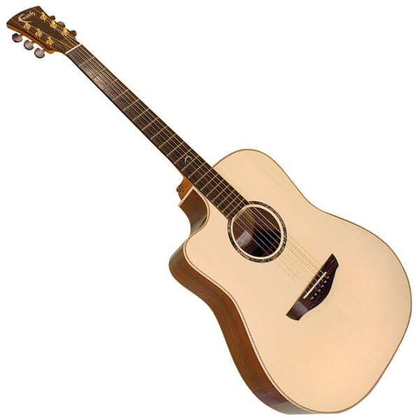 Faith Saturn Left Handed Cutaway Electro Acoustic Guitar, Hi Gloss