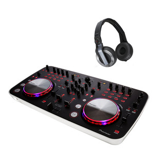 Pioneer DDJ Ergo Controller & HDJ 500K DJ Headphones