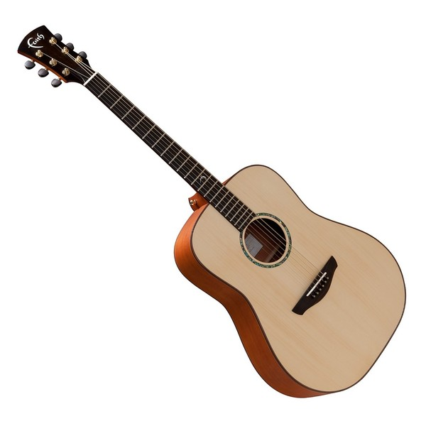 Faith Saturn Left Handed Dreadnought Acoustic Guitar, Natural