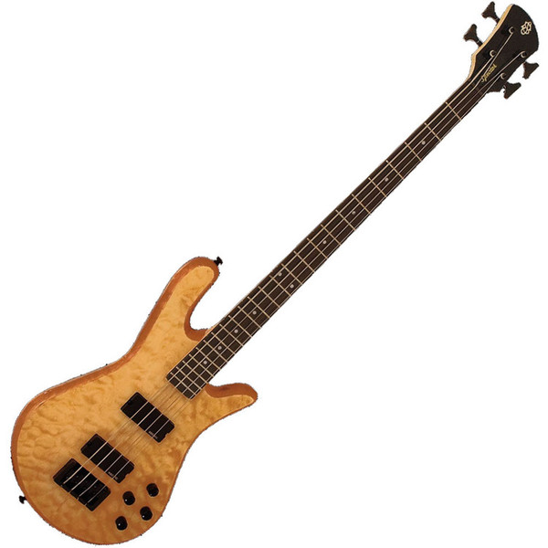 Spector Bass Legend 4 Classic Bass Guitar, Natural