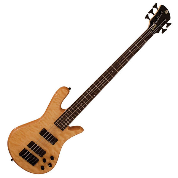 Spector Bass Legend 5 Classic Bass Guitar, Natural