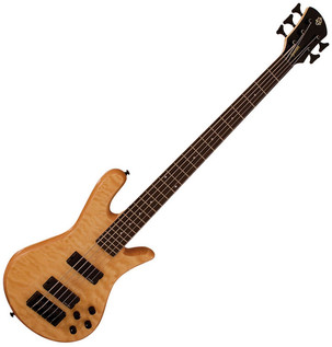 Spector Bass Legend 5 Custom Bass Guitar, Natural