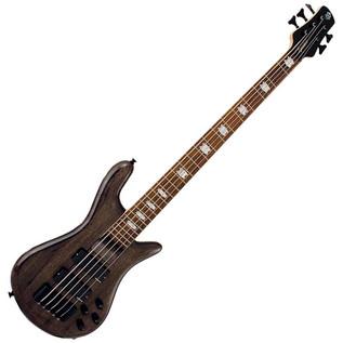 Spector Bass ReBop 5 DLX EX Bass Guitar, Black Stain Hi Gloss