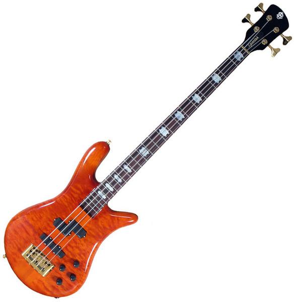 Spector Bass Euro 4LX Doug Wimbish Bass Guitar, Amber