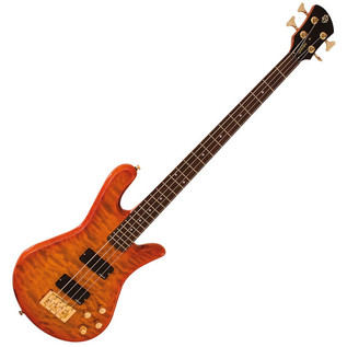 Spector Bass Legend 4 Custom Bass Guitar, Amber
