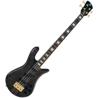 Spector Bass Euro 4LX Classic Bass Guitar, Black Stain