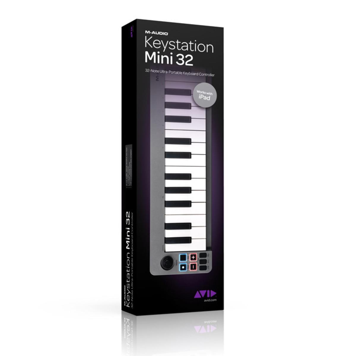 disc m audio clavier contr leur claviers miditation mini. Black Bedroom Furniture Sets. Home Design Ideas