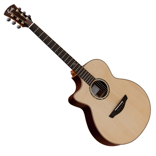 Faith Venus Electro Acoustic Left Handed, Hi Gloss Natural