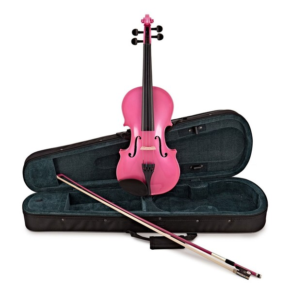 Rainbow Fantasia Pink Violin Outfit, 3/4