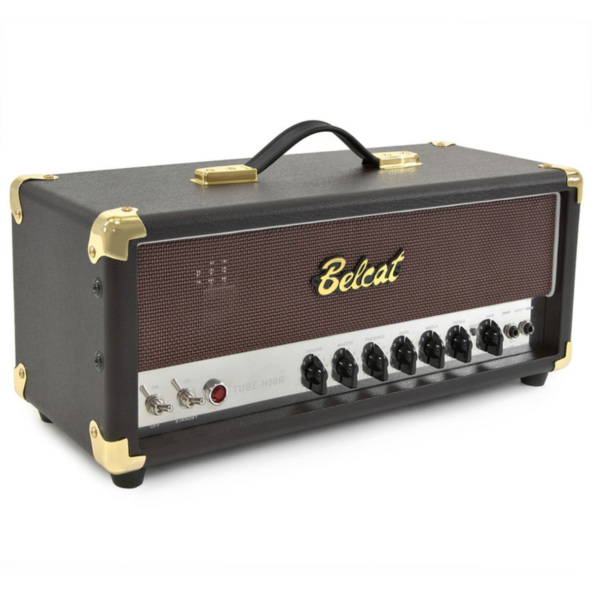 belcat tube h50r 50w valve guitar amp head at gear4music. Black Bedroom Furniture Sets. Home Design Ideas