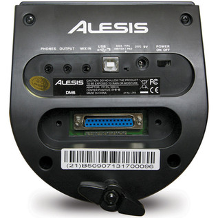 Alesis DM6 Performance Electronic Drum Kit - module back