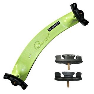 Everest Shoulder Rest 4/4 Neon Green