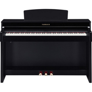 Yamaha Clavinova CLP-440PE, Polished Ebony, Includes Yamaha Bench- front