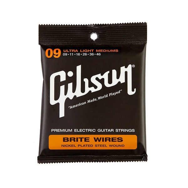 Gibson Brite Wires Electric Strings 009 - 046