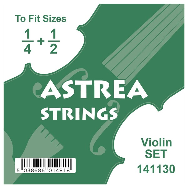Astrea Violin String Set, 1/4 - 1/2
