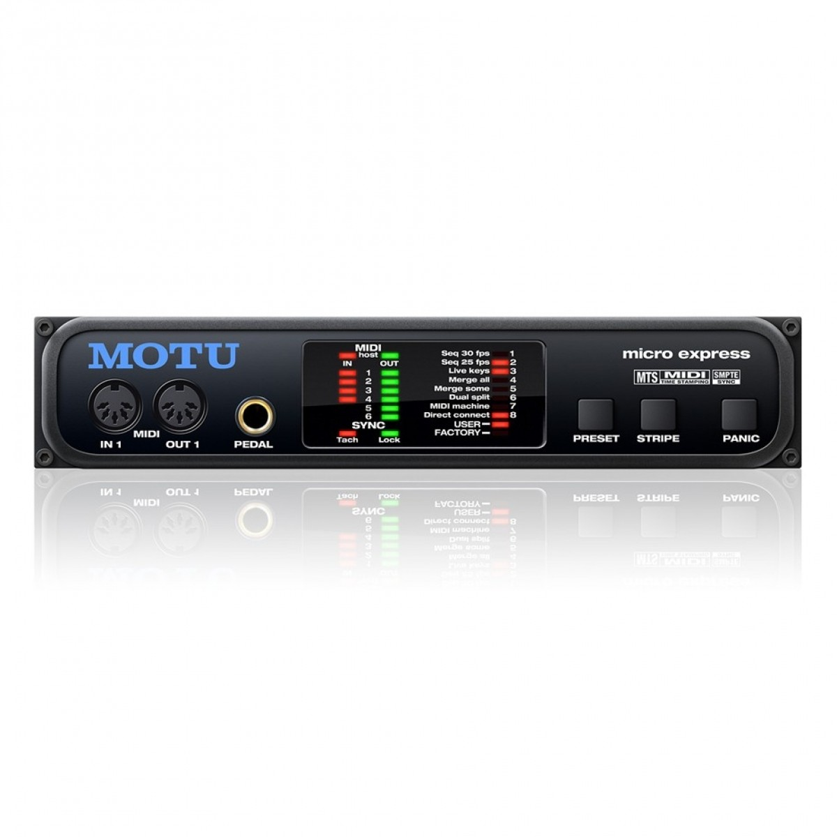 Click to view product details and reviews for Motu Micro Express Midi Interface.