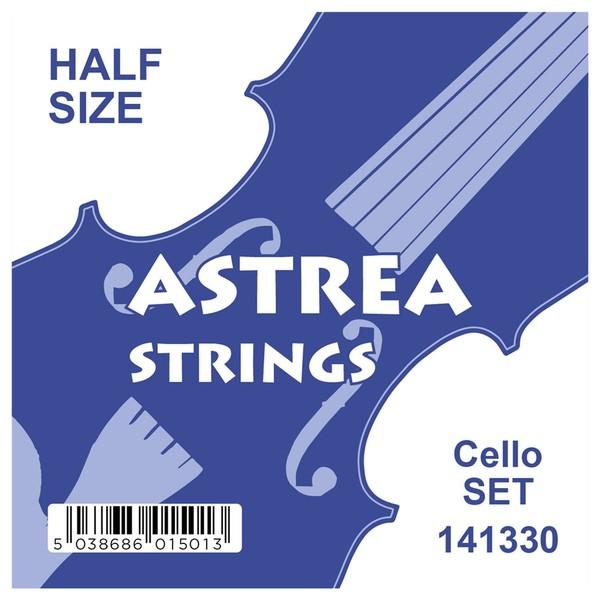 Astrea Cello String Set, 1/4 - 1/2