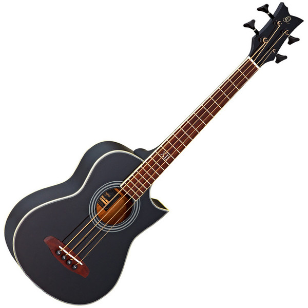 Ortega D-Walker Extra Short Scale Acoustic Bass Black