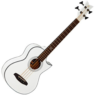 Ortega D-Walker Extra Short Scale Acoustic Bass White