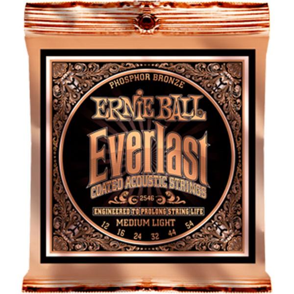 Ernie Ball Everlast 2546 Phosphor Acoustic Guitar Strings 12-54