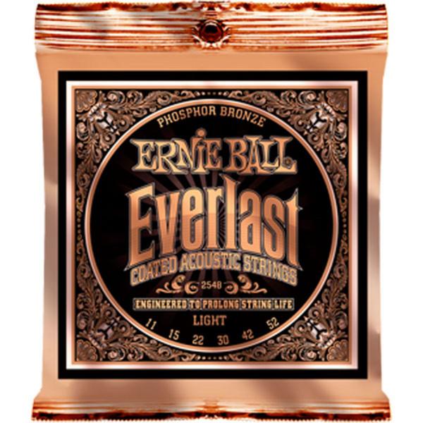 Ernie Ball Everlast 2548 Phosphor Acoustic Guitar Strings 11-52
