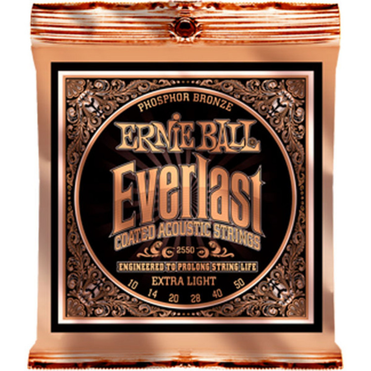 ernie ball everlast 2550 phosphor acoustic guitar strings 10 50 at gear4music. Black Bedroom Furniture Sets. Home Design Ideas