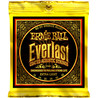 Cadeias de Bronze guitarra acústica Ernie Ball Everlast 2560 80/20 10-50