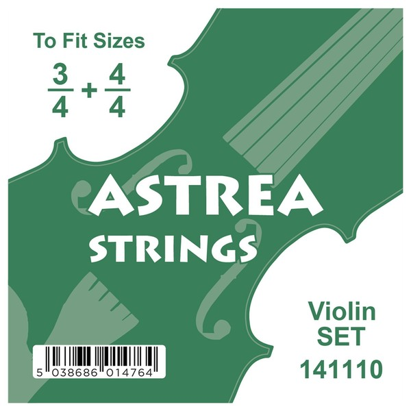 Astrea Violin String Set, 3/4 - 4/4