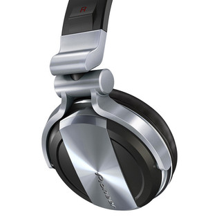 Pioneer HDJ-1500 Professional DJ Headphones, Deep Silver - side