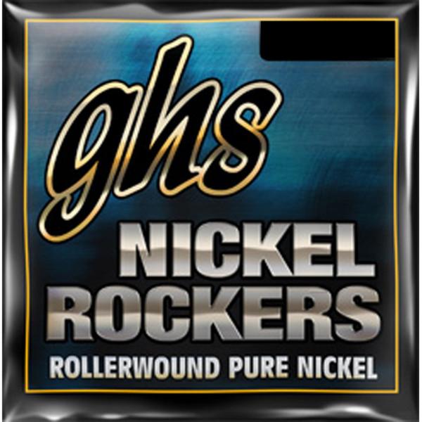 GHS Nickel Rockers Guitar Strings Extra Light 009-042