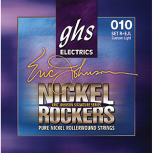 GHS Nickel Rockers Eric Johnson Signature Strings Light 010-050
