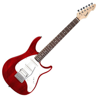 Peavey Raptor Plus EXP Electric Guitar, Trans Red