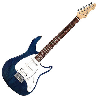 Peavey Raptor Plus EXP Electric Guitar, Trans Blue