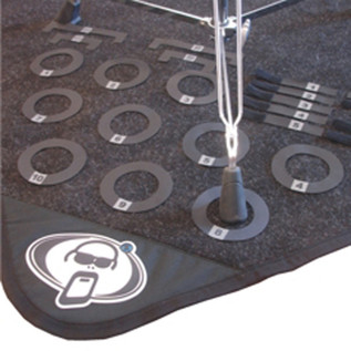 Protection Racket Drum Mat Marker Pack - Numbered