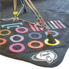 Protection Racket Drum Mat Marker Pack, Coloured