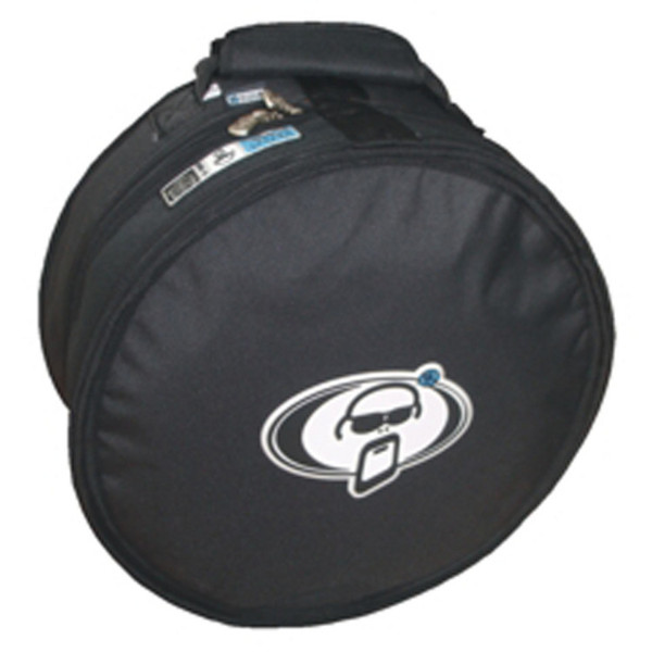 "Protection Racket 15"" x 6 1/2"" free floater snare case - Black"
