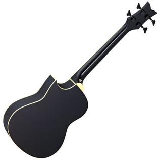 Ortega D-Walker Extra Short Scale Electro Acoustic Bass Black Rear