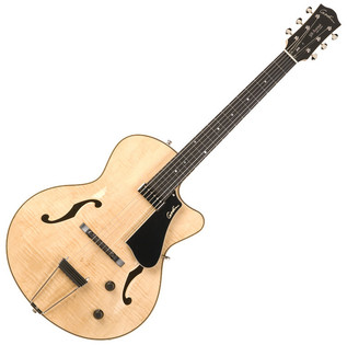Godin 5th Avenue Jazz Natural Flame HG with Case