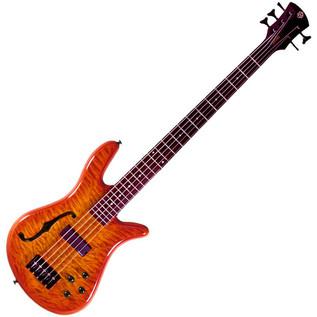 Spector Bass Pro Series Spectorcore 5 Piezo Bass Guitar, Amber