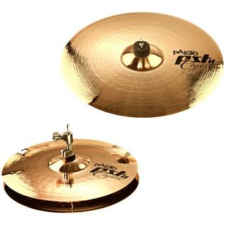 PST 8 Cajon Set Cymbal Pack