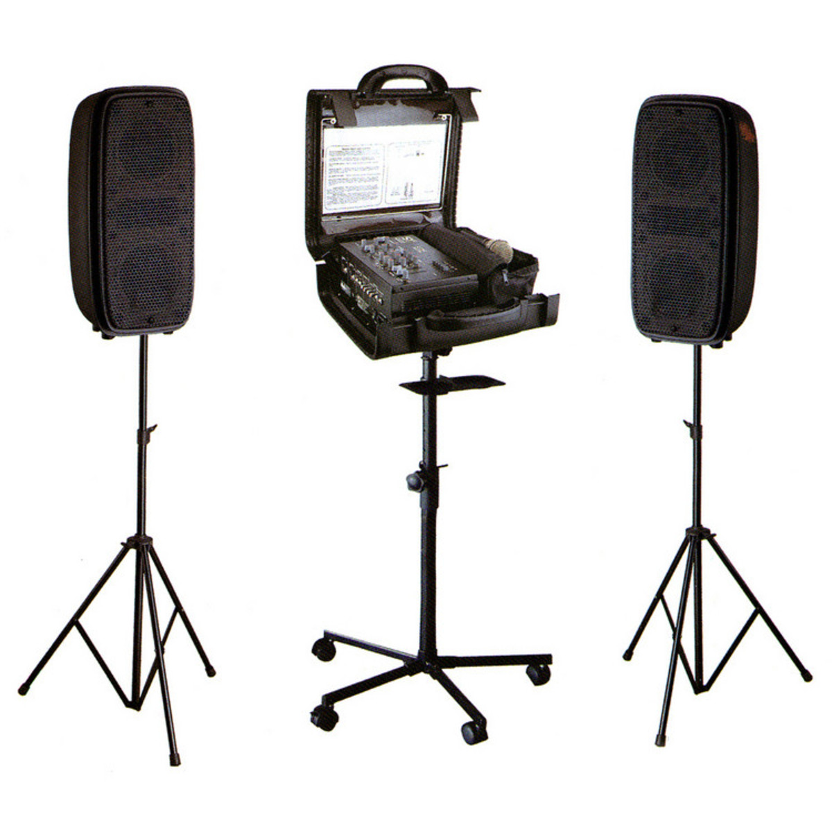 disc studiomaster runabout 200w portable compact pa system at. Black Bedroom Furniture Sets. Home Design Ideas
