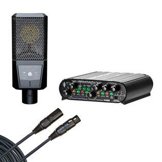 Lewitt LCT 240 Microphone & ART Dual Tube Pre Bundle