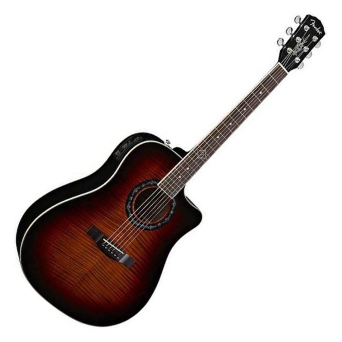 fender t bucket 300 ce electro acoustic guitar 3 colour burst at gear4music. Black Bedroom Furniture Sets. Home Design Ideas