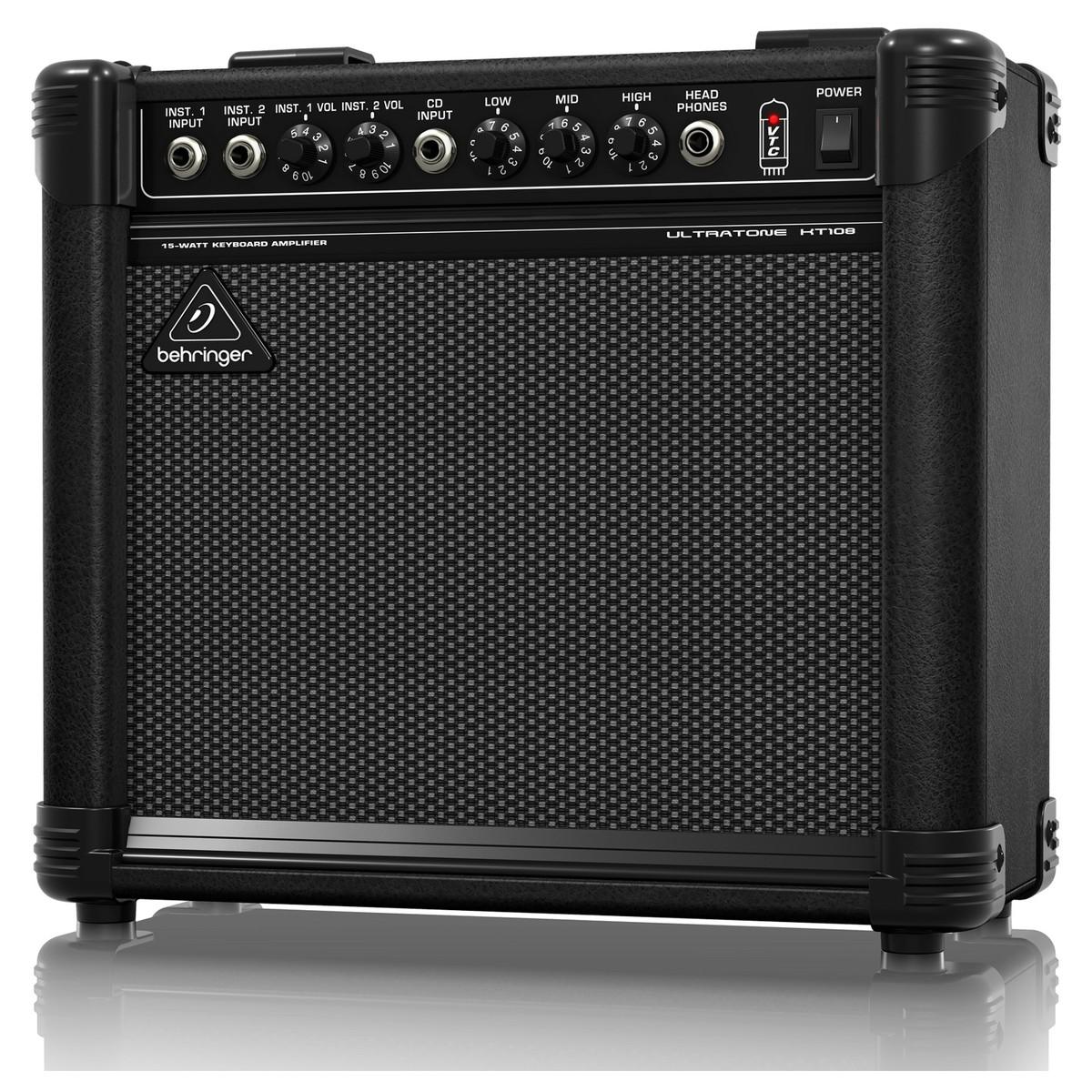 behringer kt108 ultra compact 15 watt keyboard amp at gear4music