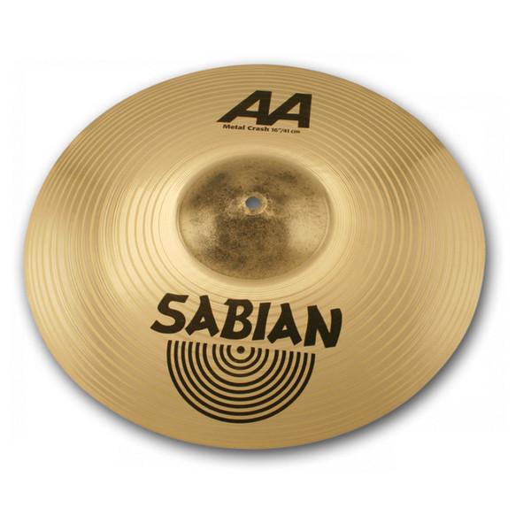 "Sabian AA Series Metal Crash 16"" Cymbal - Main"