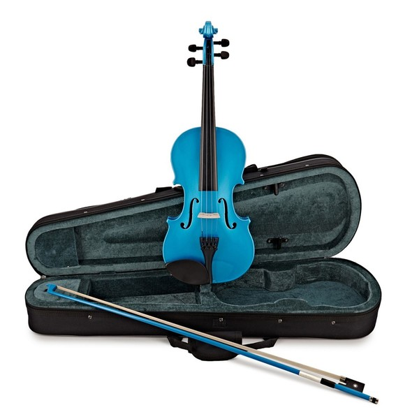 Rainbow Fantasia Blue Violin Outfit, 1/4