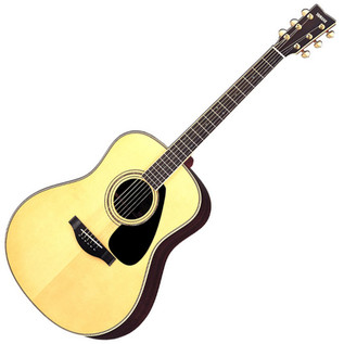 Yamaha LL16 Acoustic Guitar, Natural