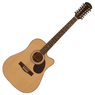 Freshman FA1DCE12 12 String Cutaway Electro Acoustic Guitar - main