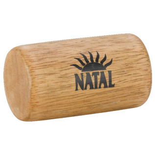 Natal Wood Tube Shaker Small
