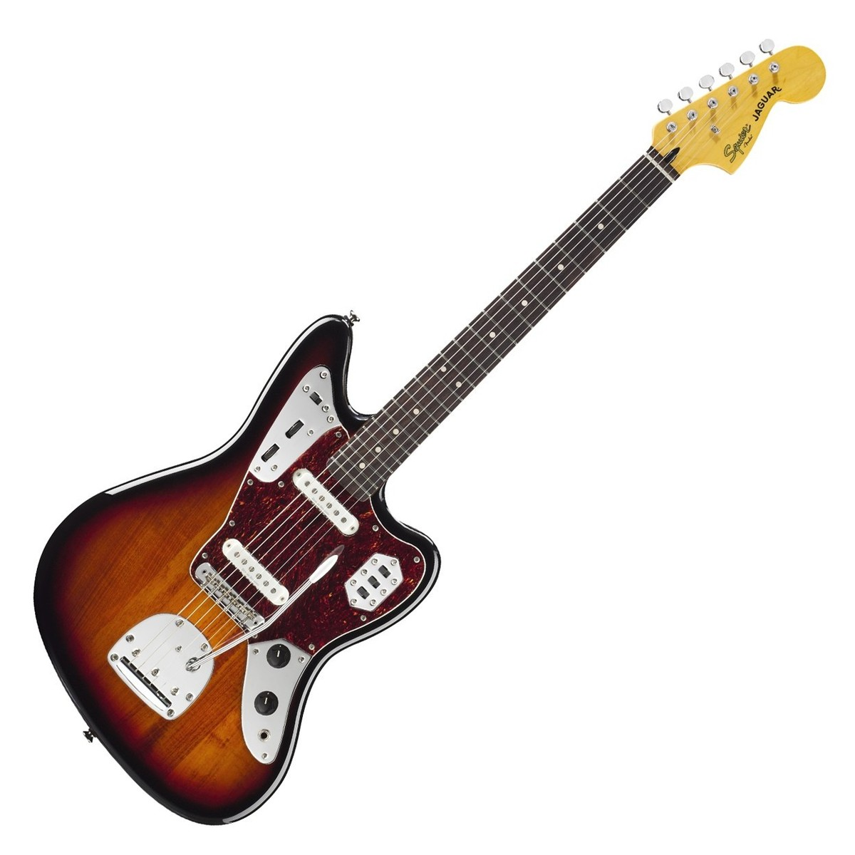Fender Squier Jaguar : squier by fender vintage modified jaguar guitar sunburst at ~ Hamham.info Haus und Dekorationen